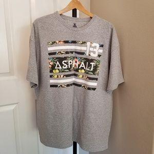 Asphalt men's XXL t-shirt